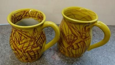 Gelbe Tassen Nr. 22, 23